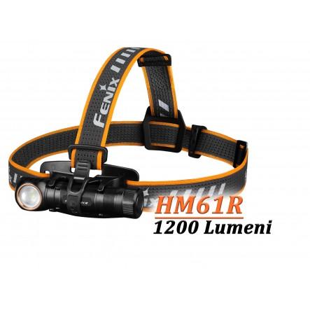 Lanterna frontala Fenix HM61R - Lanternă frontală - 1200 Lumeni - 145 Metri