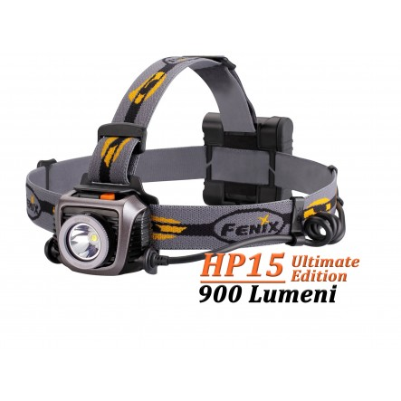 Lanterna frontala Fenix HP15 Ultimate Edition