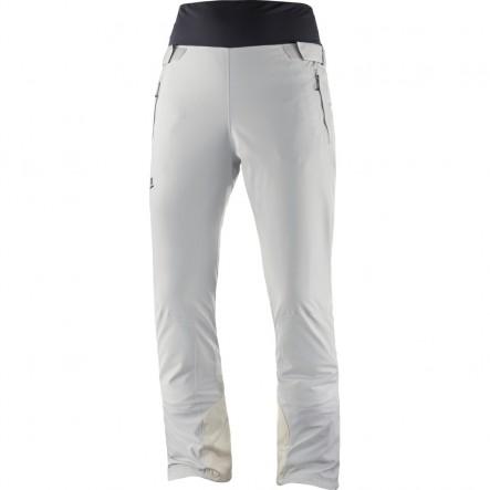 Pantaloni de ski Salomon ICEFANCY - Alb