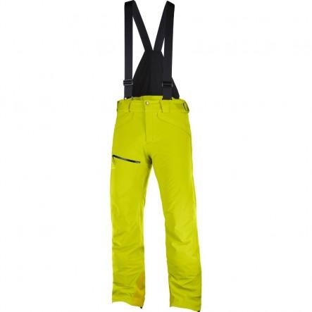 Pantaloni de ski Salomon CHILL OUT BIB - Galben