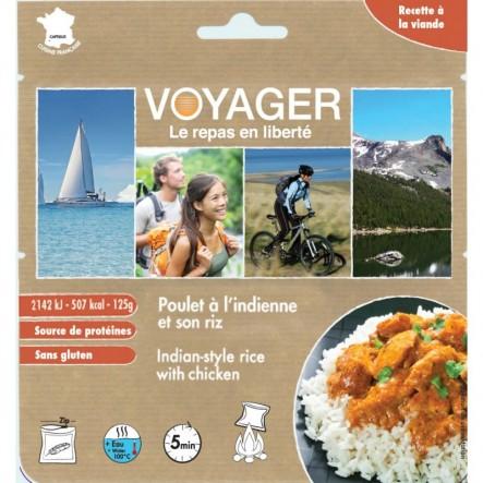 Mancare Voyager curry cu orez si pui (125 g)