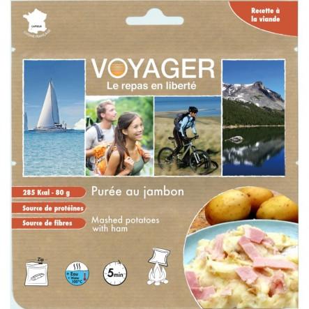 Mancare Voyager piure frantuzesc cu jambon