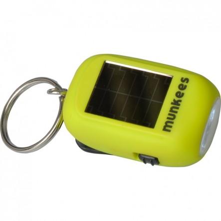 Breloc Munkees Lanterna Mini Solar / Dynamo