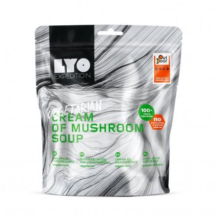 Mancare liofilizata Lyofoods Supa crema de ciuperci - 370 g