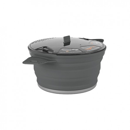 Oala camping X-Pot Sea To Summit 2.8L - Gri