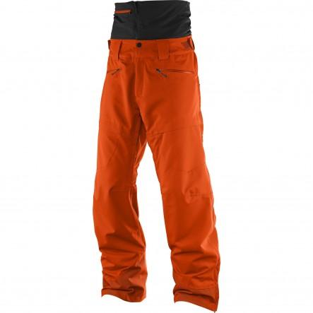Pantaloni ski Salomon Qst Guard-Portocaliu