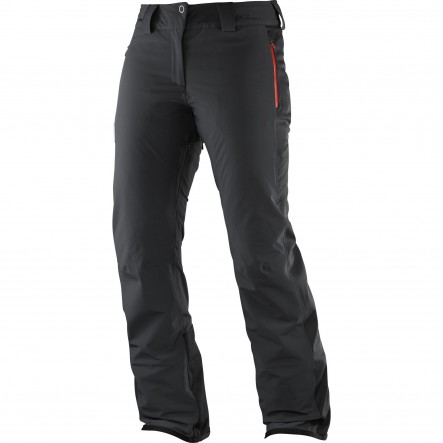 Pantaloni ski Salomon Whitedream-Negru