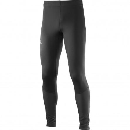 Pantaloni alergare Salomon Agile Long Tight-Negru