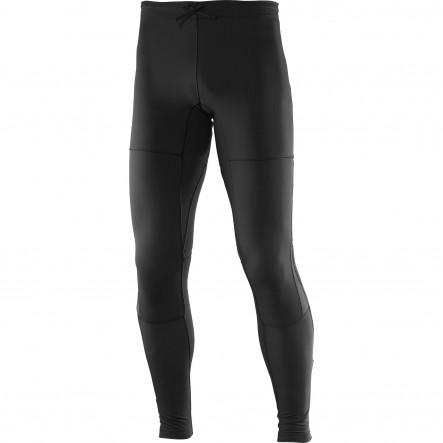 Pantaloni alergare Salomon Park Warm-Negru