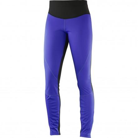Pantaloni alergare Salomon Trail Runner W-Violet