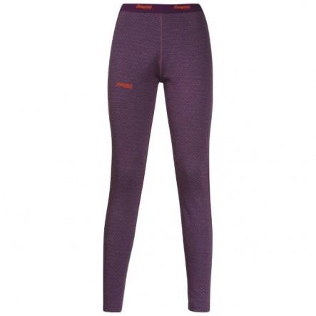Pantaloni de corp Bergans Snoull Lady - 100% Merino Wool - Mov