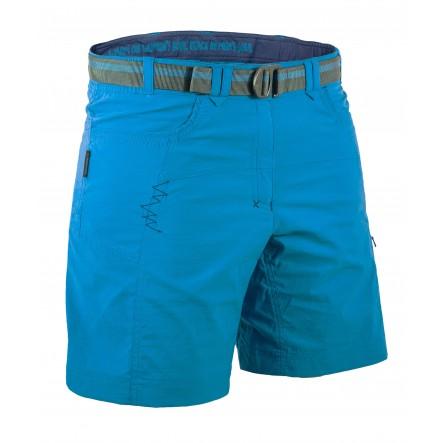 Pantaloni scurti Warmpeace Muriel Lady - Albastru