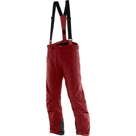 Pantaloni ski Salomon Iceglory-Bordo