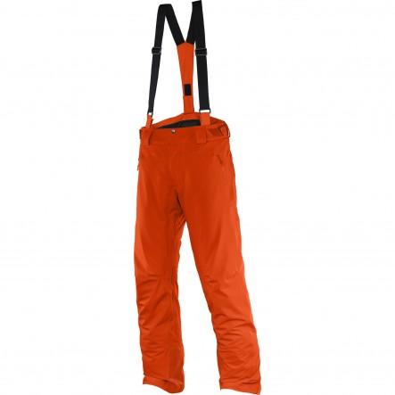 Pantaloni ski Salomon Iceglory-Portocaliu