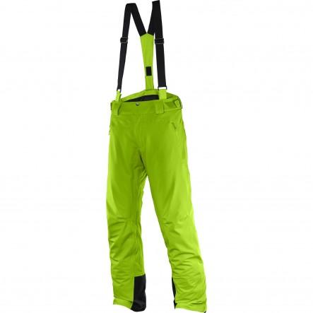 Pantaloni ski Salomon Iceglory-Verde