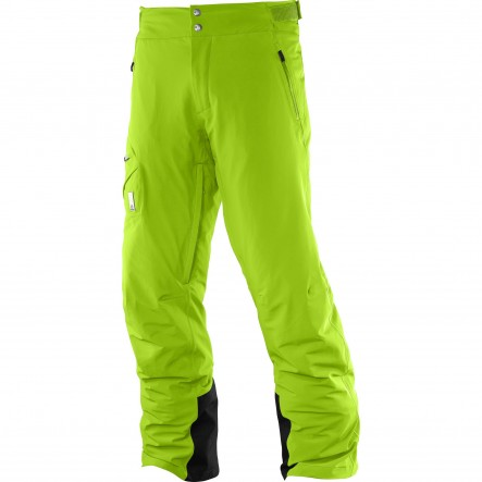 Pantaloni ski Salomon Whitelight-Verde