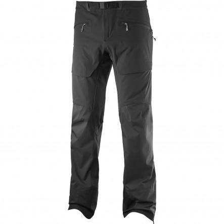 Pantaloni trekking Salomon X Alp Hybrid-Negru