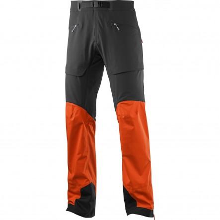 Pantaloni trekking Salomon X Alp Hybrid-Portocaliu