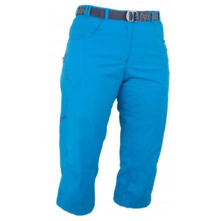 Pantaloni Warmpeace Flex 3/4 Lady - Albastru
