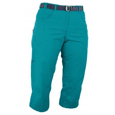 Pantaloni Warmpeace Flex 3/4 Lady - verde