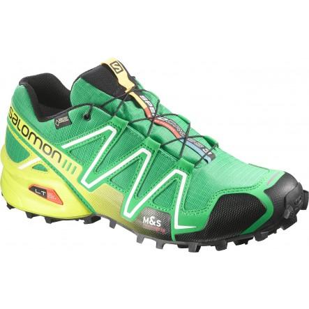 Pantofi alergare Salomon Speedcross 3 GTX - Verde