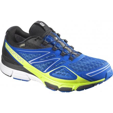 Pantofi alergare Salomon X-Scream 3D GTX - Albastru