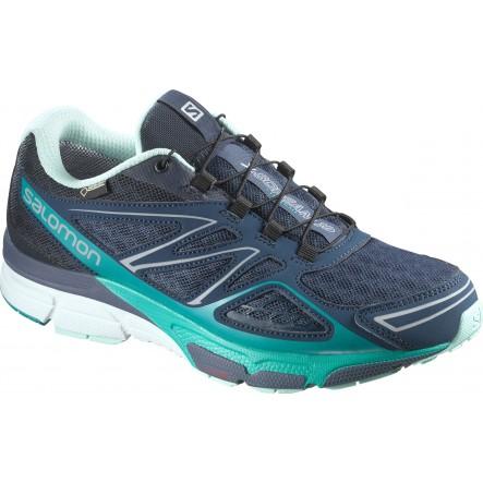 Pantofi alergare Salomon X-Scream 3D GTX - Bleumarin