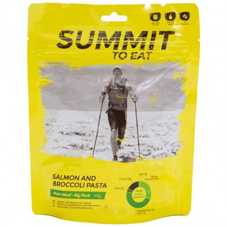 Mancare liofilizata Summit to Eat Paste cu somon si brocoli - 193 g de la Summit To Eat