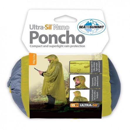 Poncho Sea To Summit Ultra-Sil® Nano 15D - Albastru