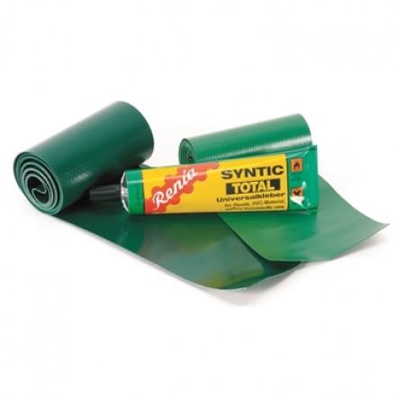 Kit de reparitie pentru canoele Ally  pe culoarea verde