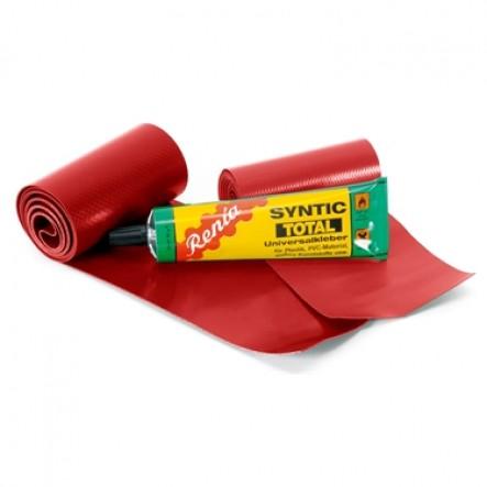 Kit de reparitie pentru canoele Ally pe culoarea rosie