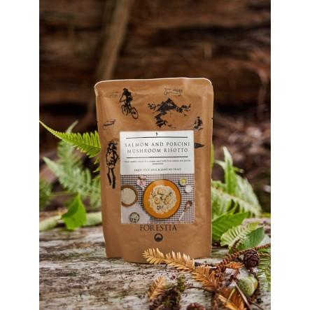 Mancare liofilizata Forestia Risotto cu somon si hribi - 350 g