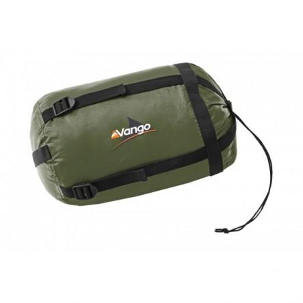 Sac compresie Vango S pentru camping, drumetie, expeditie.Parte din echipament de munte sau de drumetie, sac de compresie de la camping e util in orice tura de munte.Asigura spatiu in rucsac sau in bagaj.Util in transportul echipamentului de munte
