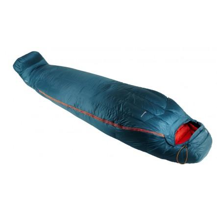 Sac de dormit cu puf Montane Direct Ascent - Albastru