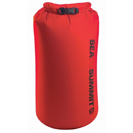 Sac impermeabil Lightweight Dry Bag Sea To Summit 20L - Rosu