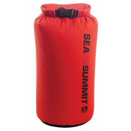Sac impermeabil Lightweight Dry Bag Sea To Summit 8L - Rosu