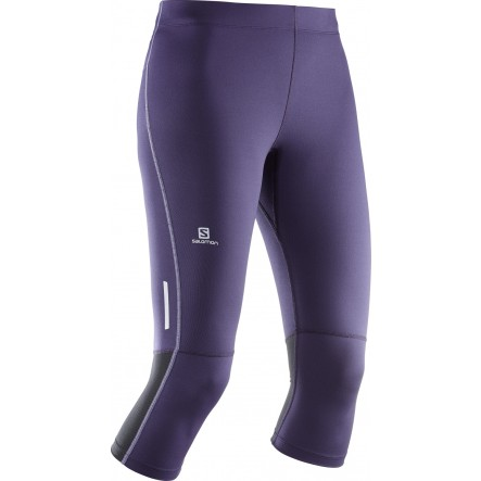 Pantaloni alergare Salomon Agile 3 4 Tight