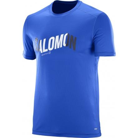 Tricou alergare Salomon Cosmic Logo