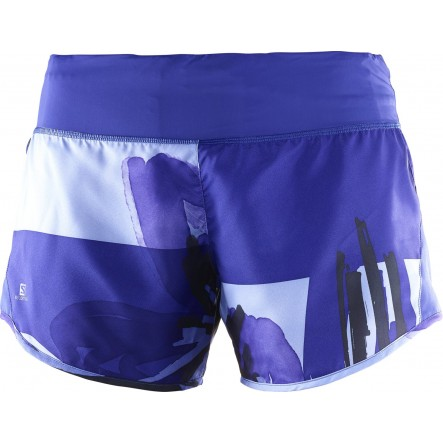 Pantaloni scurti alergare Salomon Elevate 2In1 Short