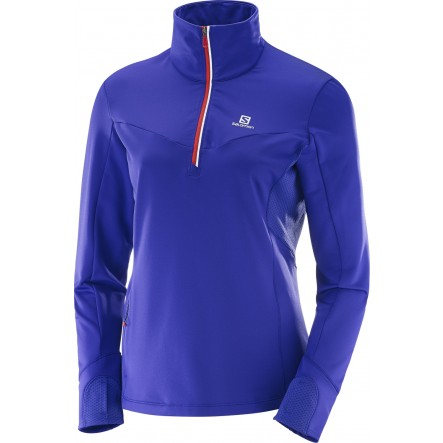 Bluza alergare Salomon Trail Runner Warm Mid