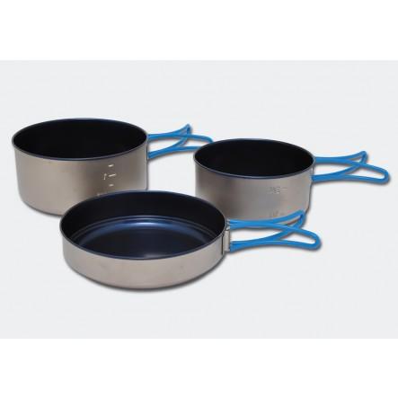 Set vase camping Alb Forming Titan si Ceramica  la proalpin.ro