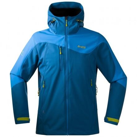 Softshell Bergans Stryn - albastru