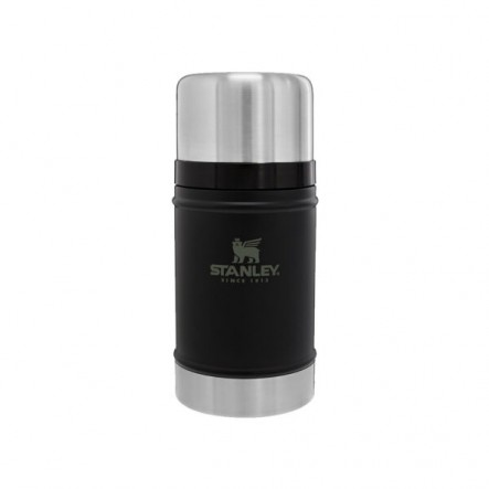 Termos pentru mancare Stanley Clasic Inox 700 ml - Negru