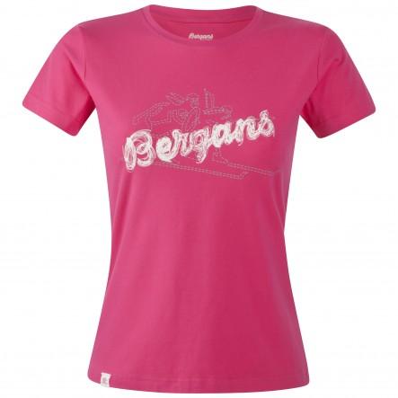 Tricou Bergans Bryggen Lady - roz