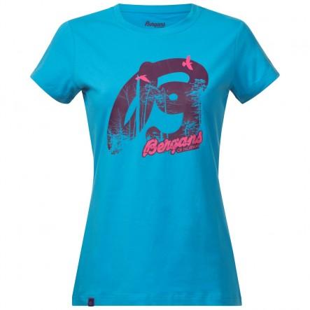 Tricou Bergans Forest Lady - Bleu