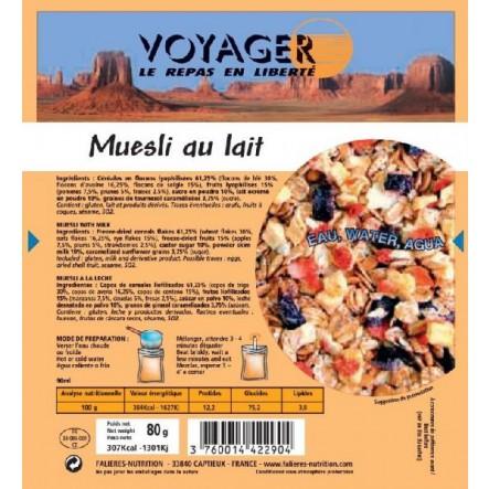 Mancare Voyager Musli cu lapte