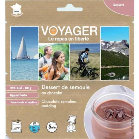 Desert Voyager budinca de gris cu ciocolata