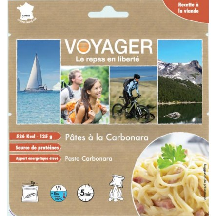 Mancare Voyager paste carbonara (125 g)