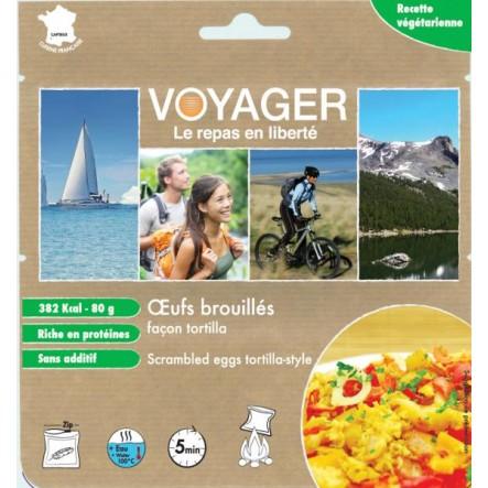 Mancare Voyager omleta tortilla