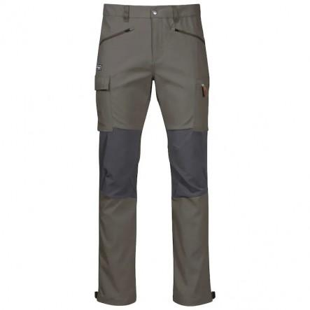Pantaloni drumetie Bergans Nordmarka Hybrid - Green Mud / Solid Dark Grey